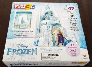 Picture of the box of the finished palace puzzle