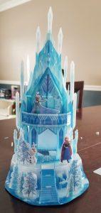 Finished Elsa's Ice Palace